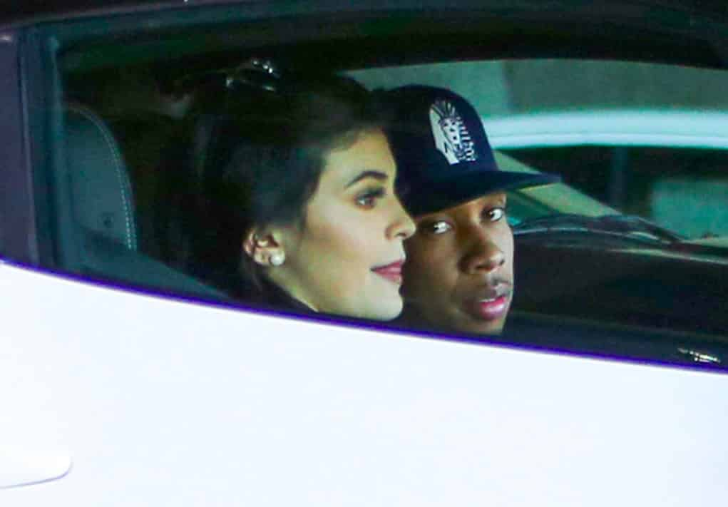 tyga kylie maybach birthday