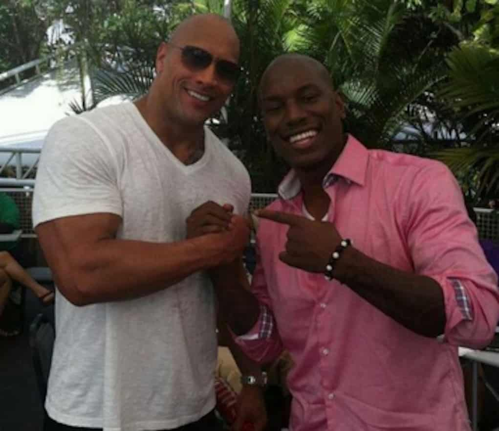 tyrese the rock fast 8