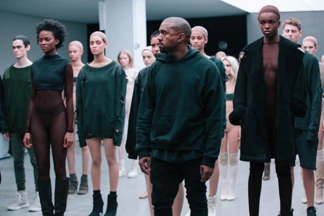 kanye west yeezy season 4 multiracial women