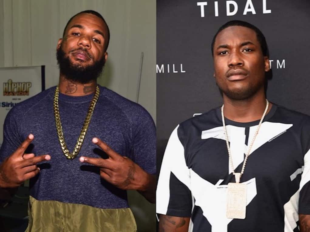 meek mill the game instagram beef