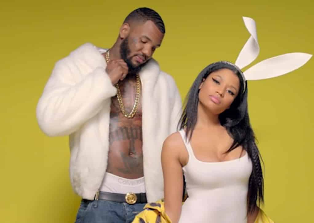 the game apologizes nicki minaj