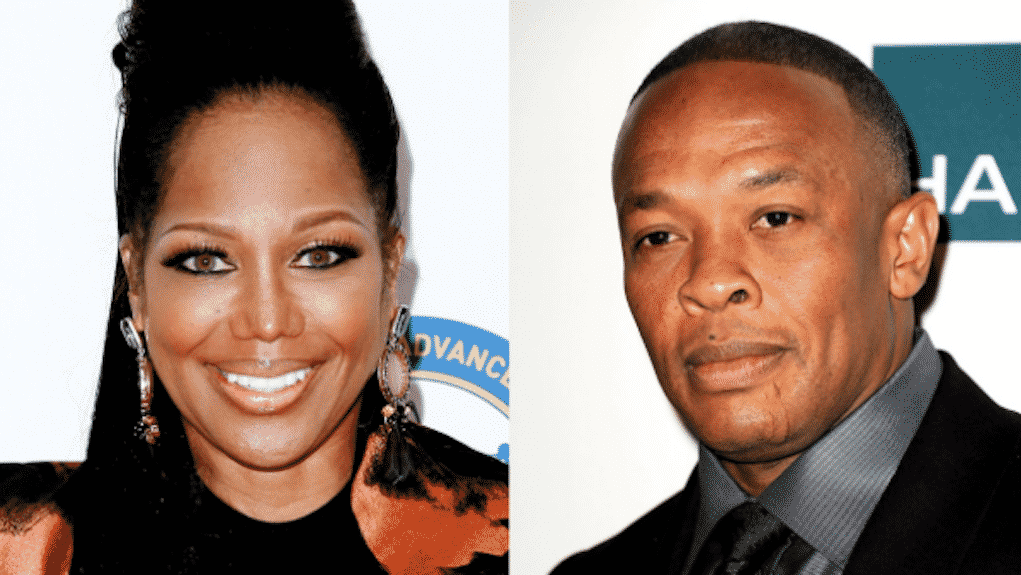 dr dre threatens sue michel'le movie