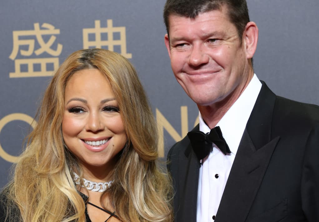 mariah carey jame packer 50 million