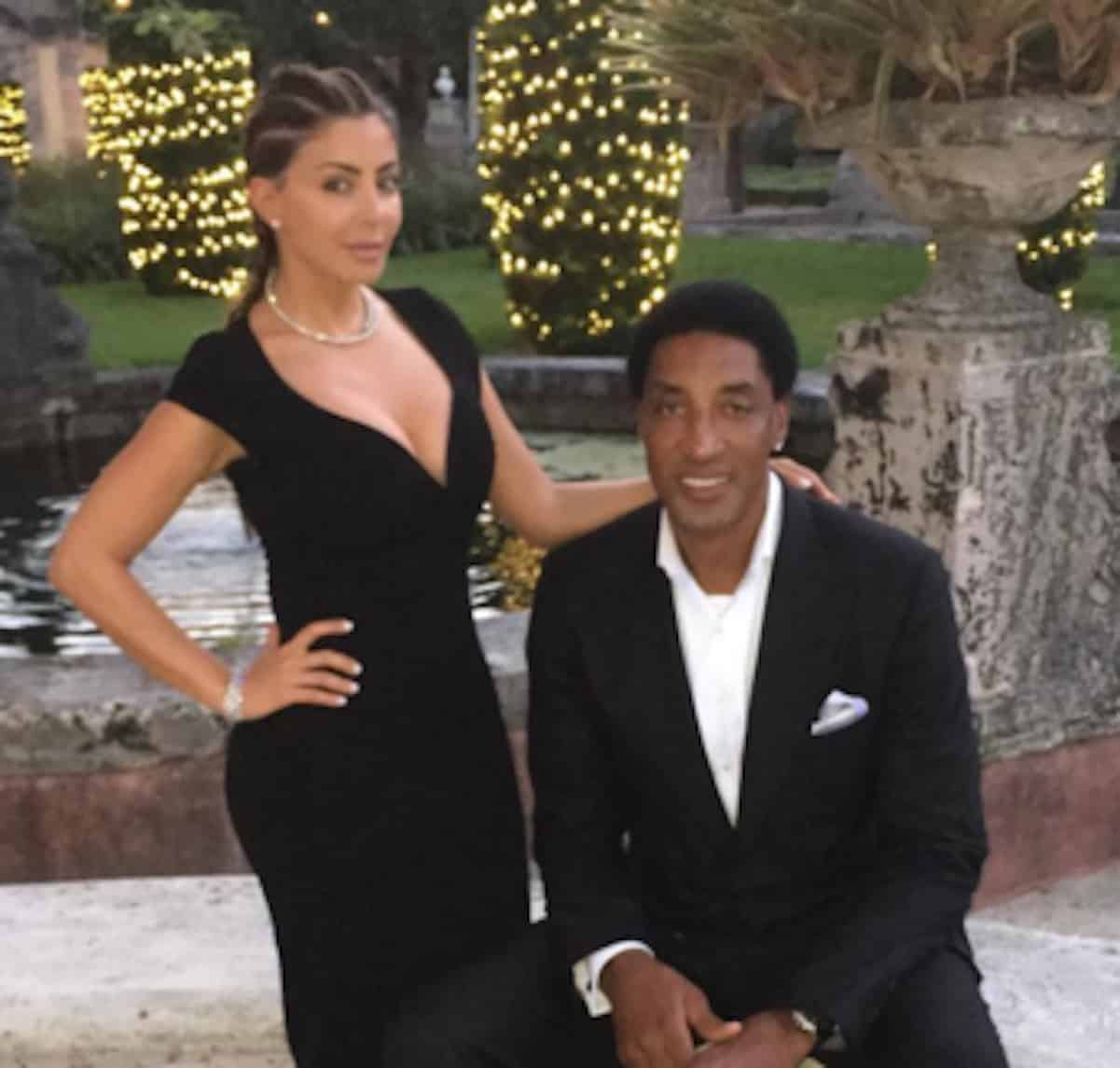 scottie pippen larsa back together
