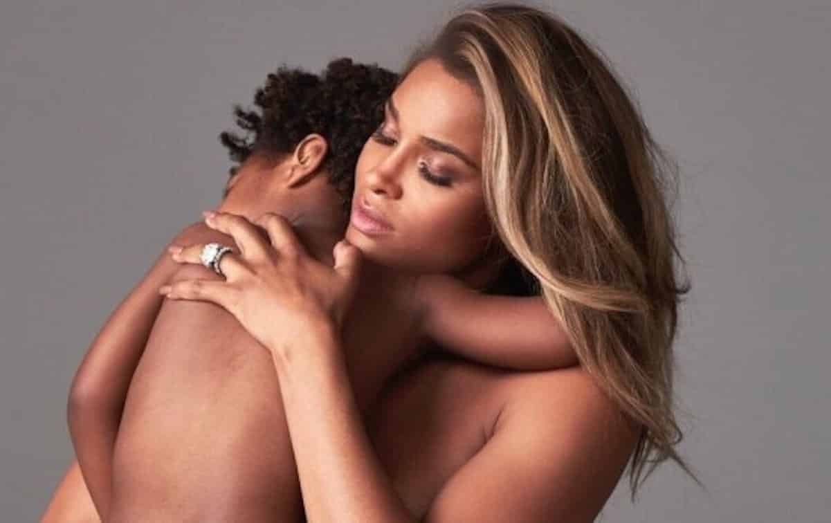 ciara deletes maternity photo