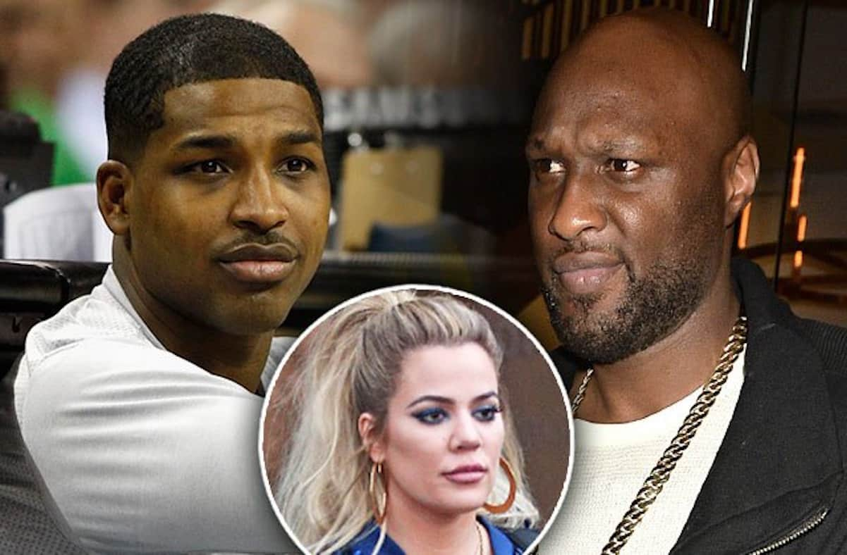 lamar odom tristan thompson fight khloe