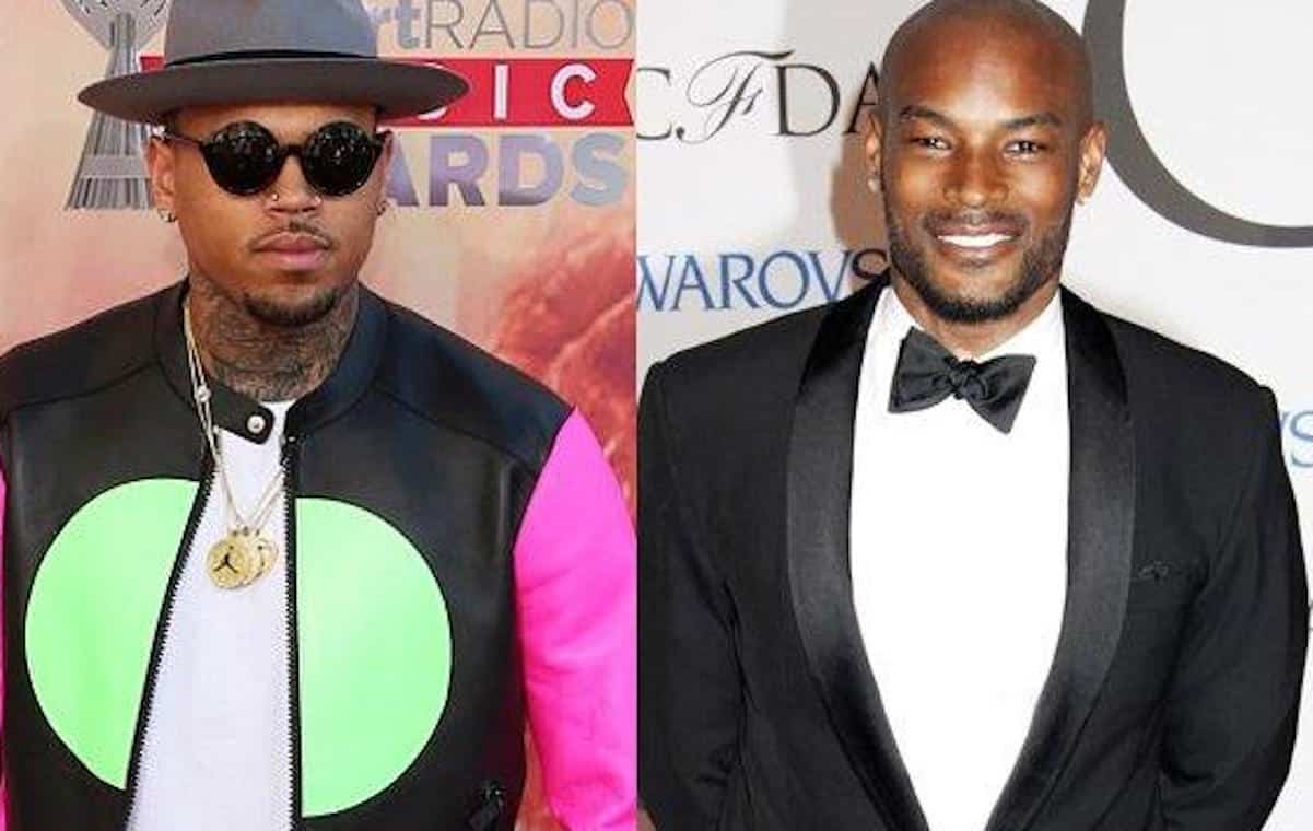 tyson beckford chris brown