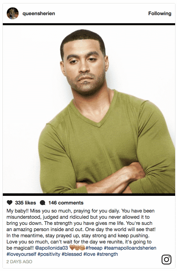 You have been judged sherien almufti defends apollo nida after