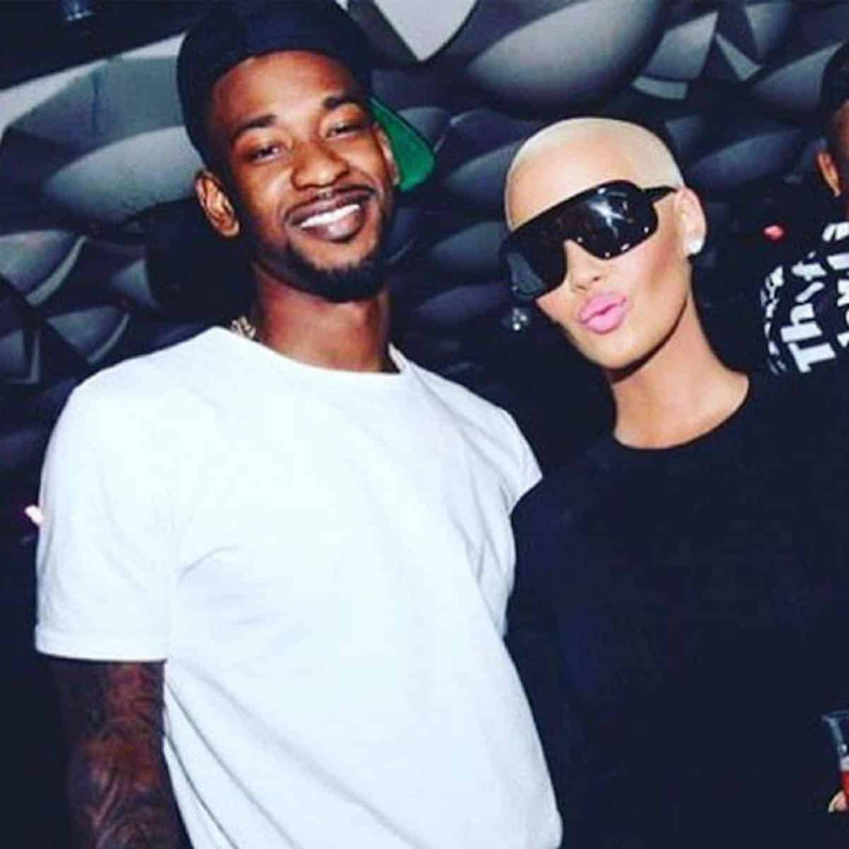 amber rose nba players