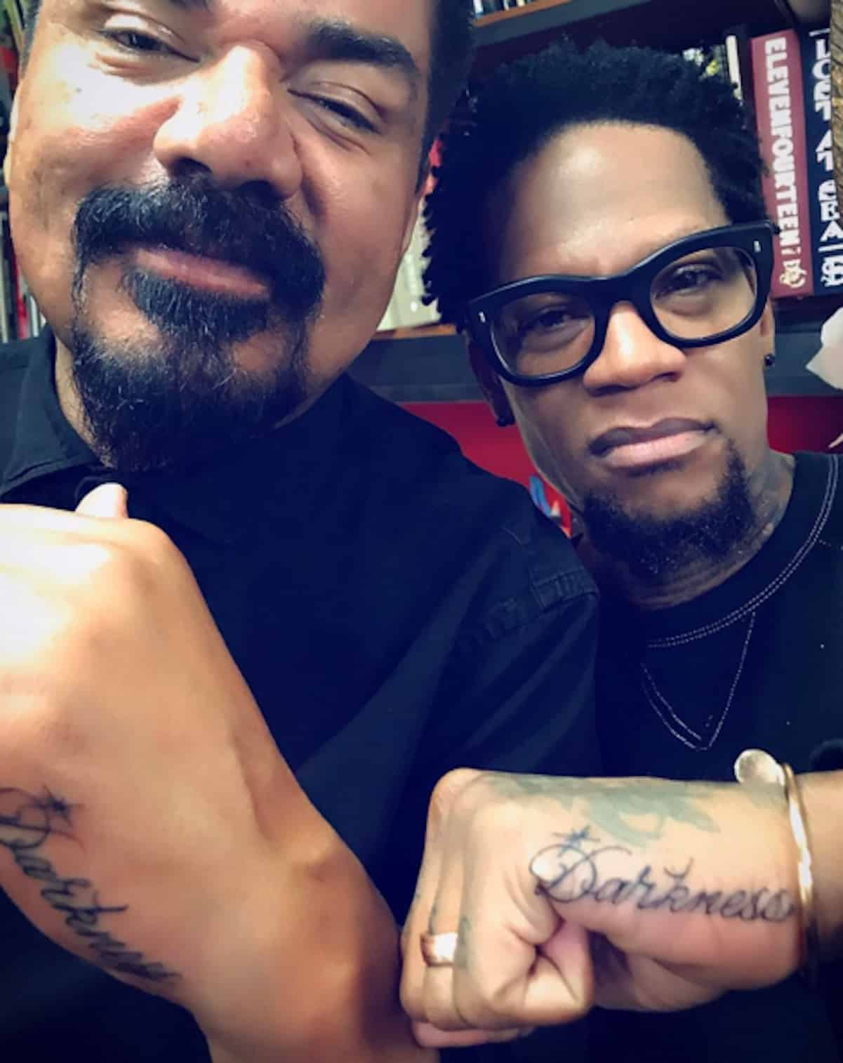 george lopez dl hughley charlie murphy tattoo