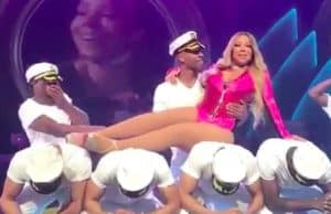 mariah carey embarrassing performance