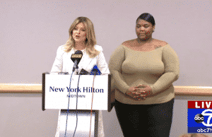 usher accuser herpes news conference