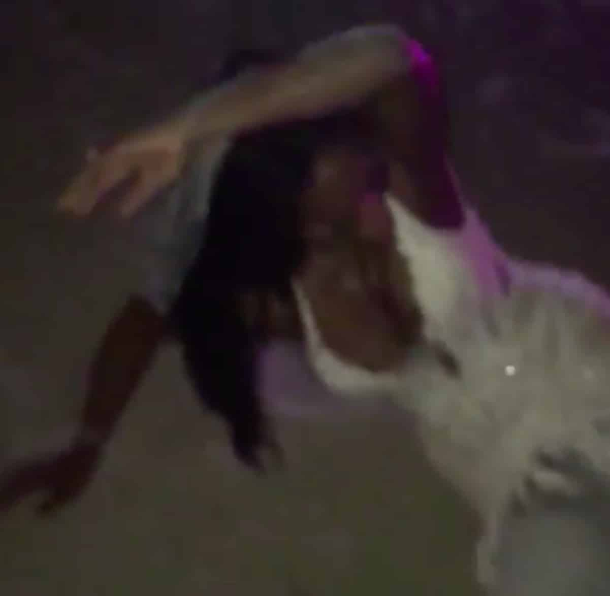 kenya moore drunk wedding night video