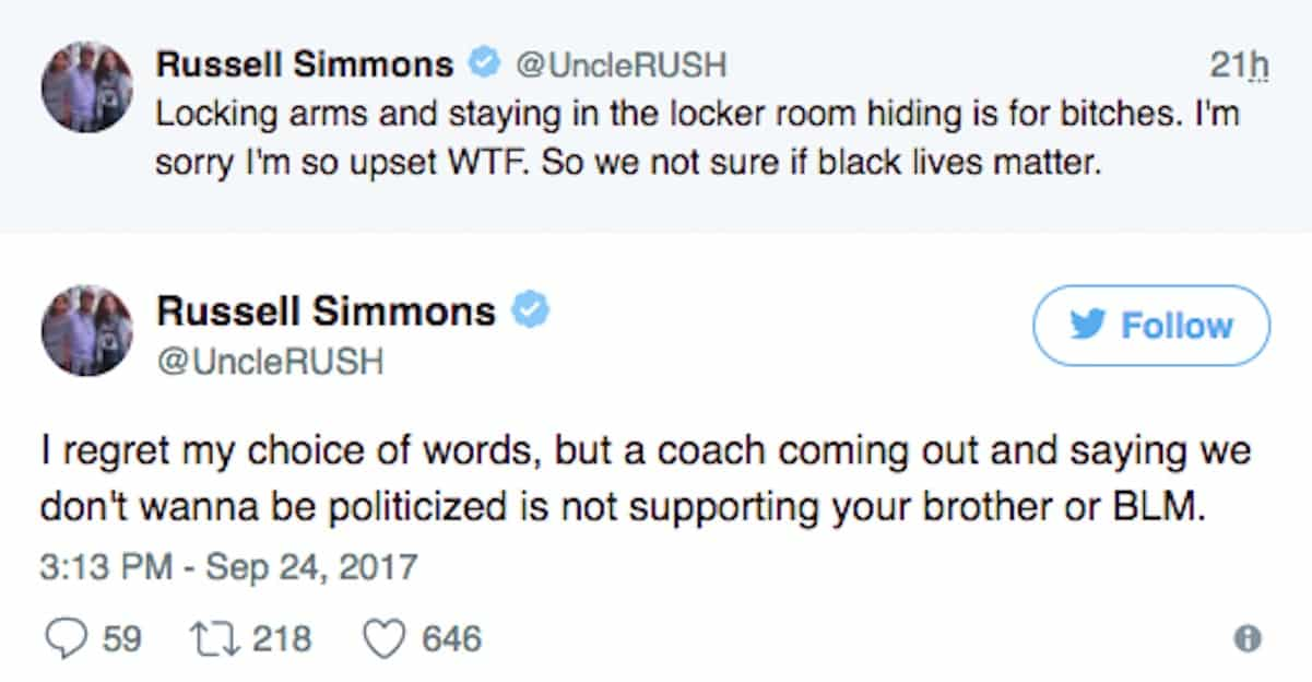 russell simmons nfl national anthem