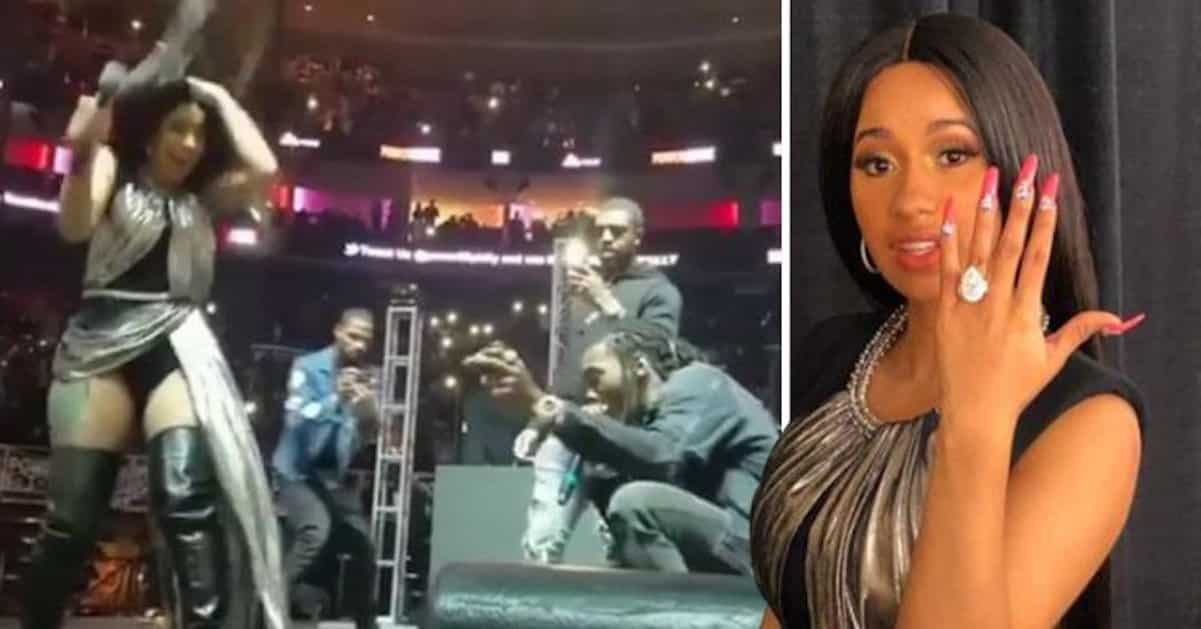 Cardi B Amp Offset Are Officially Engaged