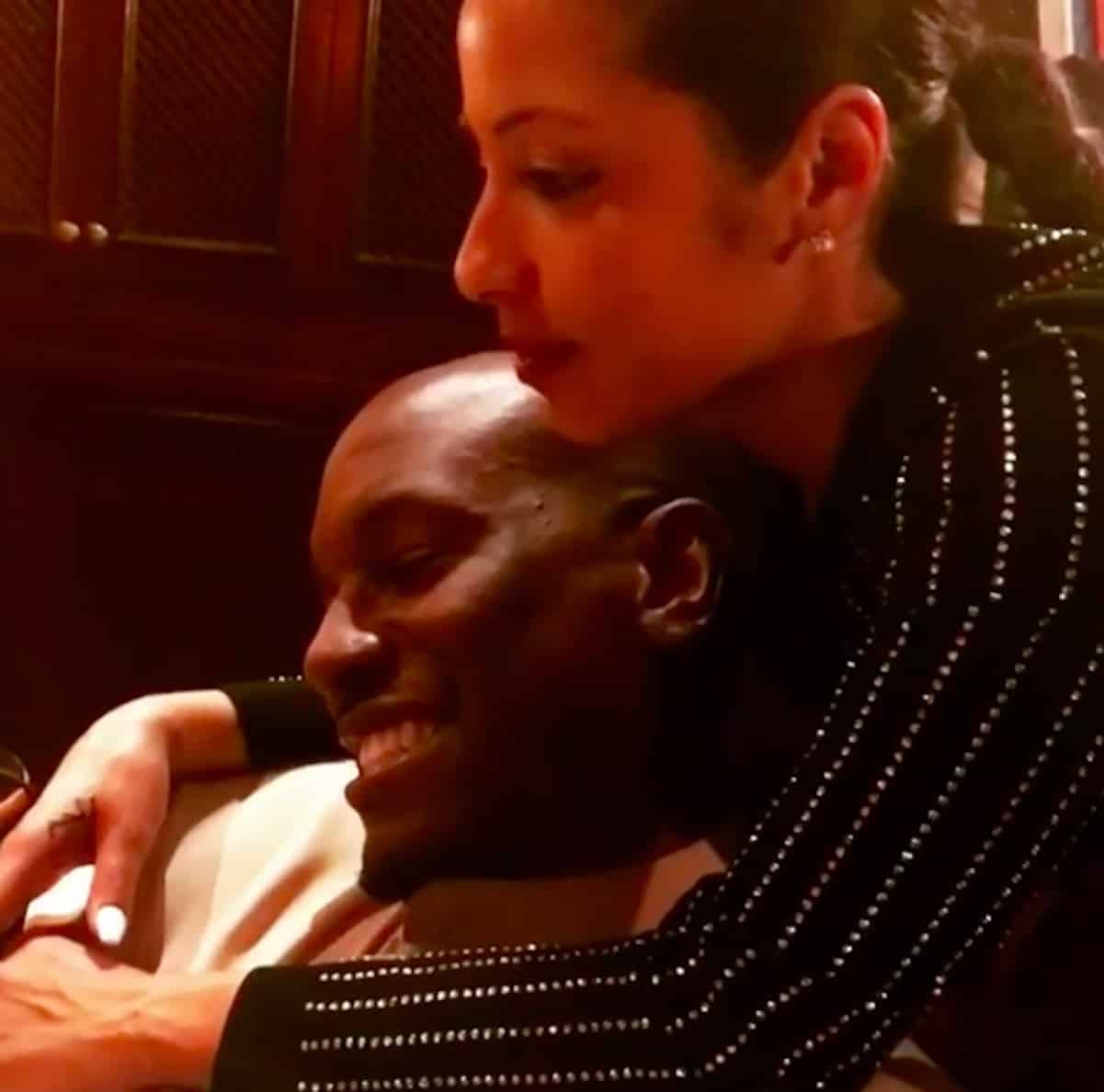 tyrese wife matching tattoos