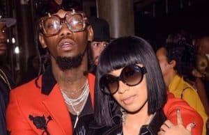 cardi b offset engaged
