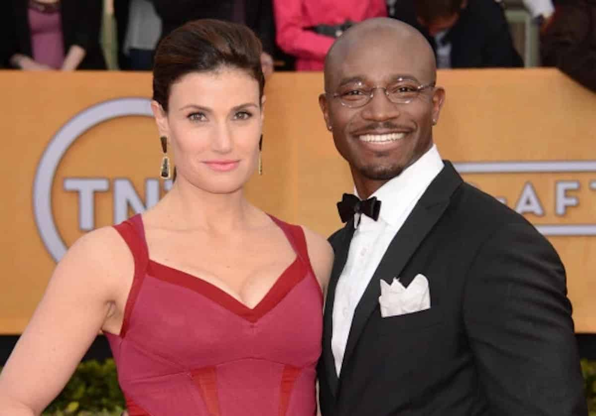 taye diggs mom white women