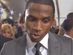 trey songz hits girl face