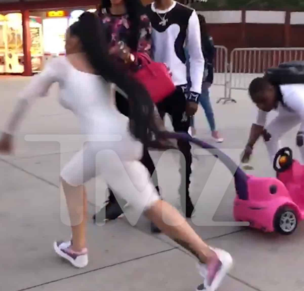 Blac Chyna Loses Stroller Endorsement After Six Flags Brawl