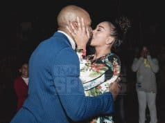 derrick fisher gloria govan engaged