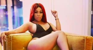 k michelle blood transfusion butt injections