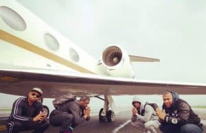 kevin hart private jet