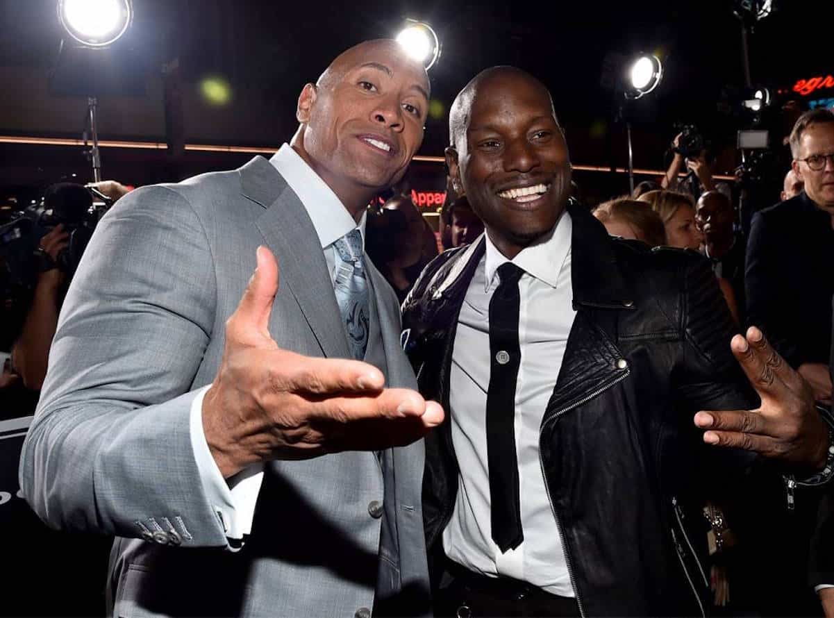 the rock tyrese