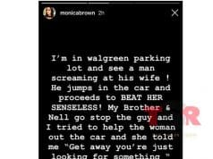 monica domestic violence incident