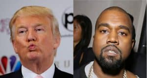 trump thanks kanye west