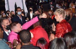 Conor McGregor Throws Drink @MGK!